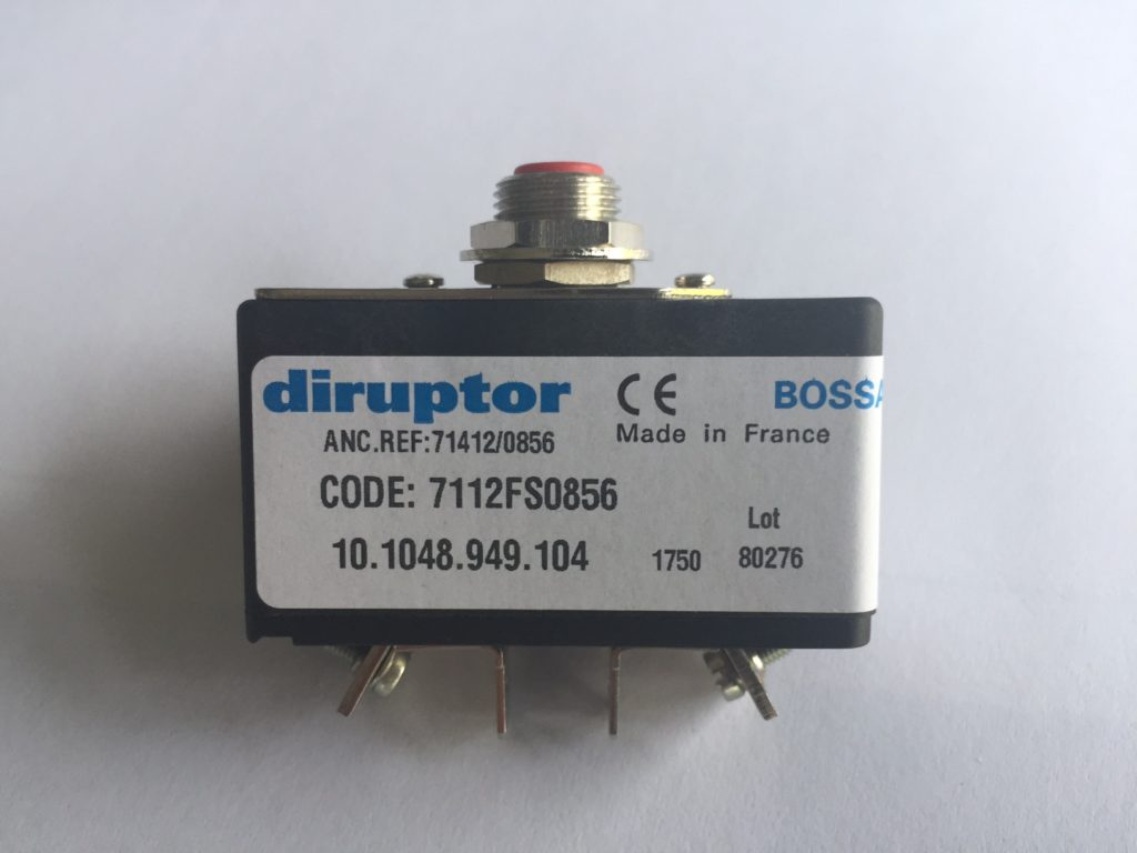 Disjoncteur-DIRUPTOR-reference-7112FS0856