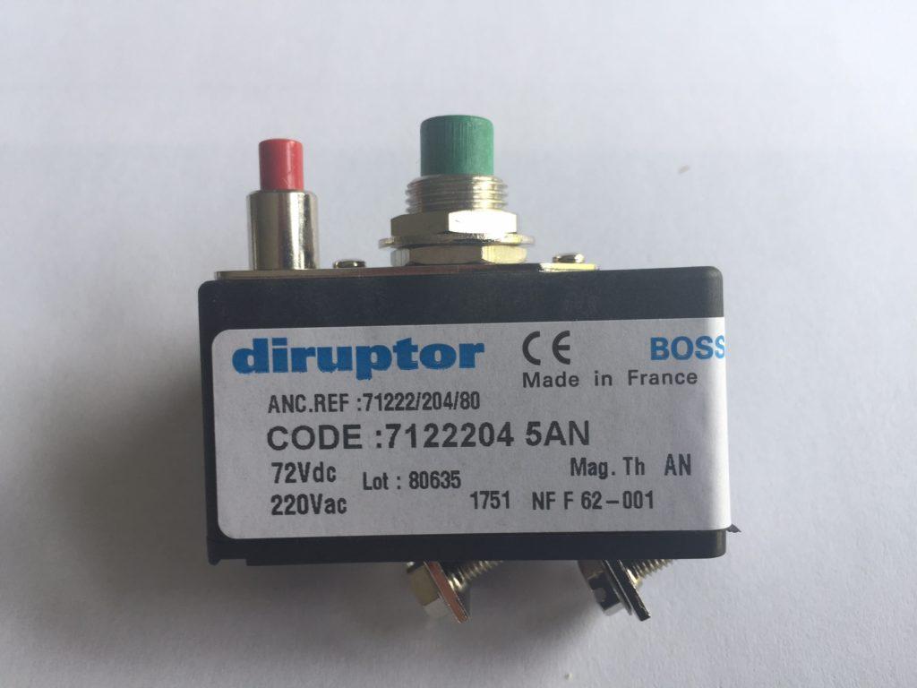 Disjoncteur-DIRUPTOR-reference-7122204-5AN