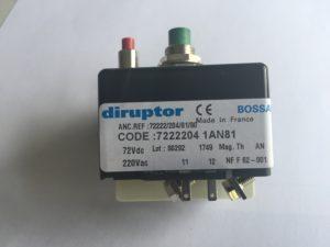 Disjoncteur-DIRUPTOR-reference-72222041AN81