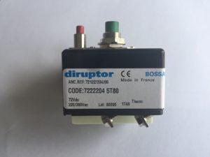 Disjoncteur-DIRUPTOR-reference-72222045T80