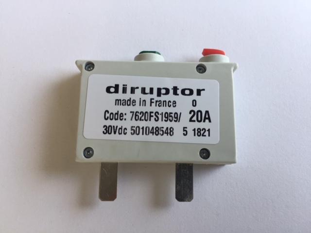 Disjoncteur-DIRUPTOR-reference-7620FS1959-20A
